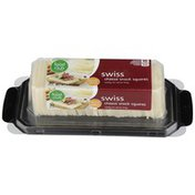 Food Club Swiss Cheese Snack Squares
