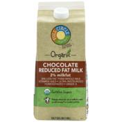 Full Circle Chocolate 2% Reduced Fat Milk