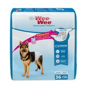Four Paws Large & Extra Large Wee-Wee Disposable Diapers
