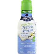 Lucerne Coffee Creamer, Sugar Free, French Vanilla
