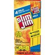 Slim Jim Mild Smoked Snack Sticks