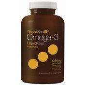 Nature's Way NutraSea+D™ Omega-3 Liquid Gels, Fresh Mint