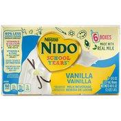 NIDO Nestle  School Years Vanilla Boxed Milk Beverage