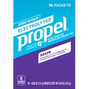 Propel Grape Electrolyte Water Beverage Mix