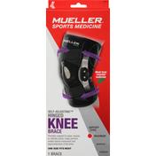 Mueller Knee Brace, Self-Adjusting, Hinged, Maximum