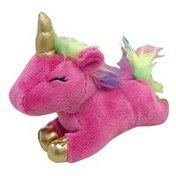 FouFou Pink Unicorn Plush Dog Toy