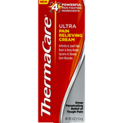 ThermaCare Pain Relieving Cream, Ultra