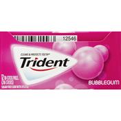 Trident Bubblegum Sugar Free Gum with Xylitol
