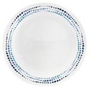 Corelle Plate, Luncheon, Ocean Blues, Not Packed