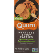 Quorn Patties, Vegan, Spicy, Meatless
