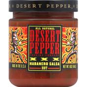 Desert Pepper XXX Habanero Salsa, Hot