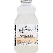 Lakewood Juice, Organic, Pure Aloe