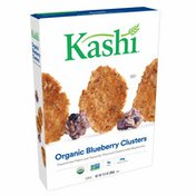 Kashi Breakfast Cereal, Vegan Protein, Organic Cereal, Blueberry Clusters