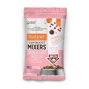 Instinct Raw Boost Mixers Skin & Coat Health Recipe Grain-Free Freeze-Dried Cat Food Topper