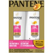 Pantene Curl Perfection ProV Shampoo & Conditioner Dual Pack