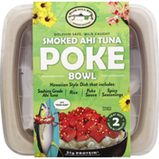 Blue Hill Bay Poke Bowl, Smoked Ahi Tuna