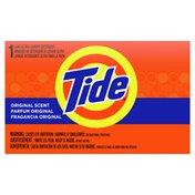 Tide Powder Laundry Detergent, Original Scent, Single Use