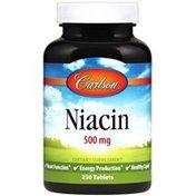 Carlson Labs Niacin 500 mg