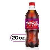 Coca-Cola Cherry Vanilla Flavored Soda Pop Soft Drink