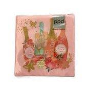 Paperproducts Design Celebration Time Beverage Napkin