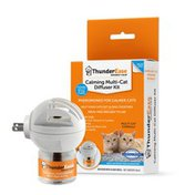 Thunder Ease Reduce Cat Conflict Tension & Fighting Multicat Calming Pheromone Diffuser Kit