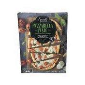 Specially Selected Mozzarella Pesto Flatbread