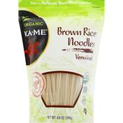 Ka-Me Noodles, Organic, Brown Rice, Vermicelli