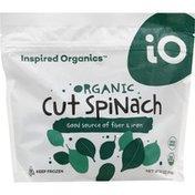 Inspired Organics Cut Spinach, Organic