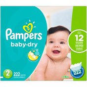 Pampers Baby-Dry Size 2 Diapers