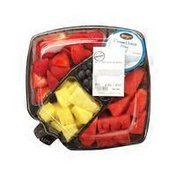Meijer Small Cut & Ready To Eat Fruit Tray with Dip