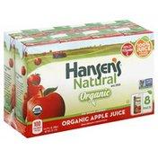 Hansen's Natural Natural Organic Apple Juice Cartons