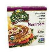 Sunshine Burgers Veggie Burgers, Shiitake Mushroom
