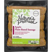 Nature's Promise Sausage, Apple, Plant-Based