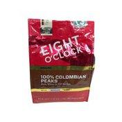 Eight O'Clock Coffee Medium Roast 100% Colombian Peaks Arabica Ground Coffee