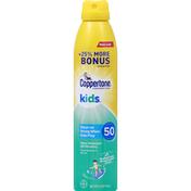 Coppertone Sunscreen Spray, Broad Spectrum, SPF 50