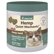 NaturVet Quiet Hemp Sc Cat Supplement