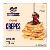Belgian Boys Traditional Crepes