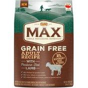 NUTRO Max Grain Free Adult Recipe with Pasture-Fed Lamb Dog Food