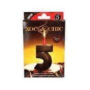 XOC & CHIC Chocolate Candle #5