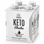 Genius Gourmet Keto Shake, Chocolate