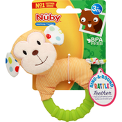 Nûby Soothing Teether, Ring-A-Round Rattle