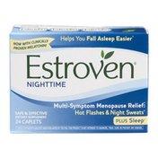 Estroven Nighttime Multi-Symptom Menopause Relief Plus Sleep Dietary Supplement - 24 CT