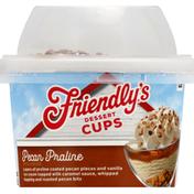 Friendly's Dessert Cups, Pecan Praline