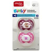 Playtex Pacifier, Orthodontic, Silicone