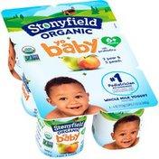 Stonyfield® Organic YoBaby Peach & Pear Whole Milk Organic Yogurt