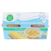 Food Club Low Sodium Super Sweet Whole Kernel Corn