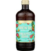 Brew Dr. Kombucha Kombucha, Pineapple Guava
