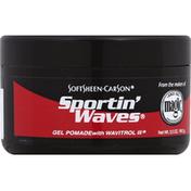 Sportin' Waves Pomade, Gel, with Wavitrol III