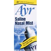 Ayr Nasal Mist, Saline