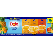 Dole Fruit Bowls, No Sugar Added, Variety Pack
